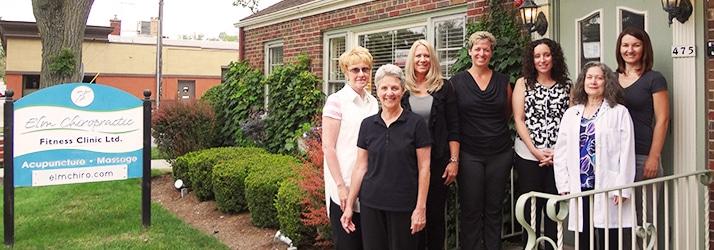 Chiropractor Elmhurst IL Victoria Gazdacka and staff